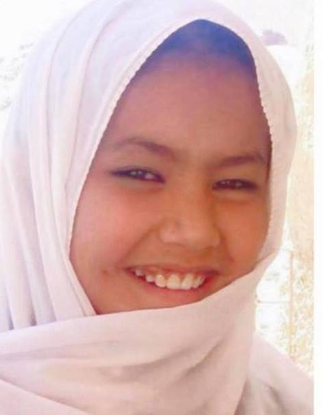 دختر ۹ ساله افغانستان توسط طالبان سربریده شد و این عکس سمبول از مونالیزای افغانستان است.