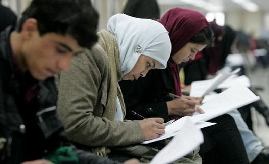 afghan-students-in-iran